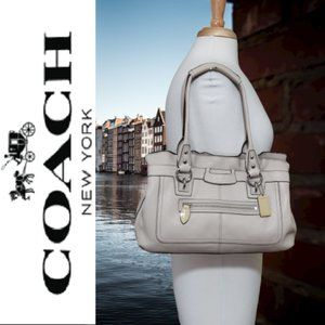 Coach Penelope Pebbled Leather Satchel/Shopper